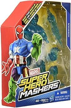 Marvel Super Hero Mashers Iceman Figure 6-Inch