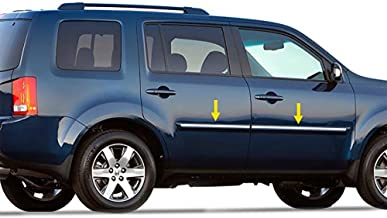 Tyger Auto Made in USA! Works with 2009-2016 Honda Pilot Body Side Molding Trim 5/8