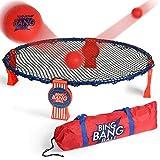 A11N 2019 Upgraded Winter Bing Bang Ball Game Set, Nice Bounce EVO-Honeycomb PE Net and Ultra Steady...