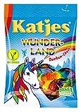 Katjes Wunderland Rainbow-Edition - Leckeres Fruchtgummi in magischen Formen und Farben - inspiriert von den Farben des Regenbogens, 200 g -