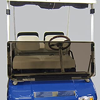 Club Car DS 1982-2000.5 Tinted Fold Down Impact Resistant Windshield for CC DS 82-2000.5 Golf Cart
