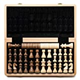 JHSHENGSHI Chess International Chess Set Pieces Set Board Game Funny Game Chessmen Collection Portable Board Game Gift Chess Set Chess Board