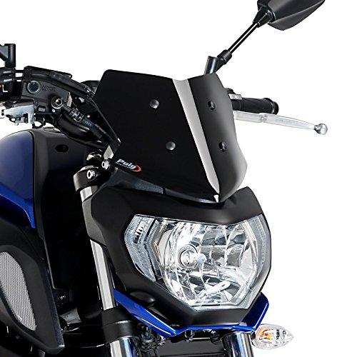 Cockpitverkleidung Sport für Yamaha MT-07 18-19 schwarz Puig 9666n