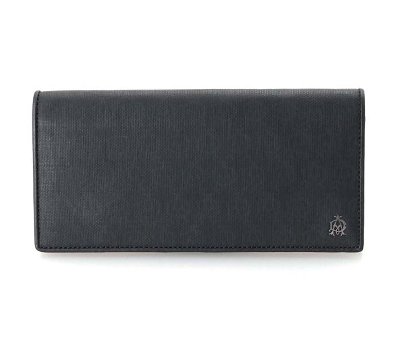 大宇宙パンエスカレート(ダンヒル)dunhill WIONDSOR 長財布 (小銭入れ有) l2pa10a ブラック メンズ