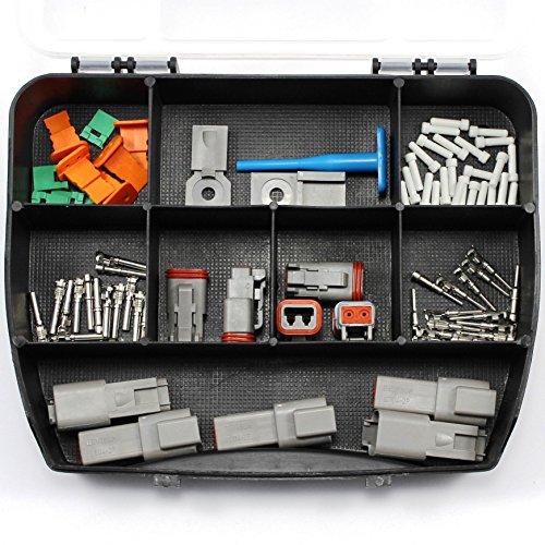 AK-Parts DT Deutsch Set Sortimentskasten 2 Polig 0,75-2,00 mm²