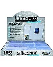 Ultra Pro-E-81442-E Hojas para Album de cartas, Color transparente, 1-pack (UPR81442)