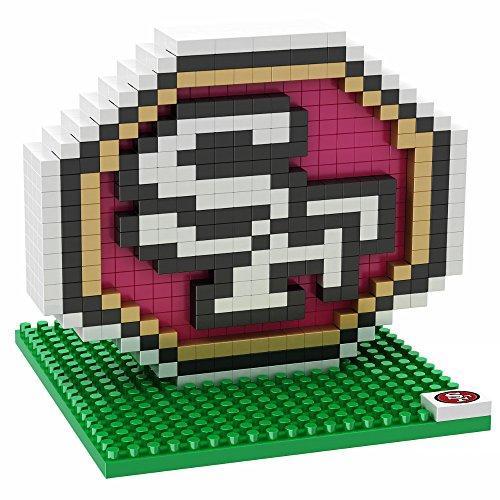 San Francisco 49ers Logo 3D BRXLZ Building Kit (402 Piece)