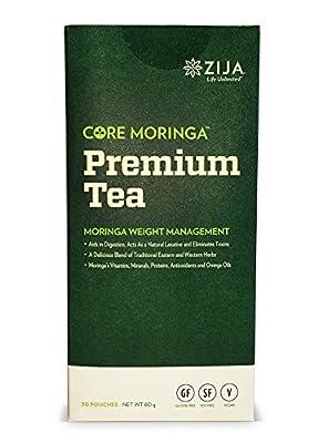 Zija Premium Moringa Miracle Tea, 30 Packets, Net WT. 60g from Zija