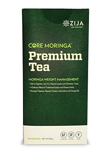 Zija Premium Moringa Miracle Tea, 30 Packets, Net WT. 60g