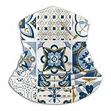 Jxrodekz Calentador de Cuello Polaina Patrón marroquí Diadema Bufanda Sombreros Deportivos Máscara Facial Bandana Pañuelos multifunción Hombres Mujeres