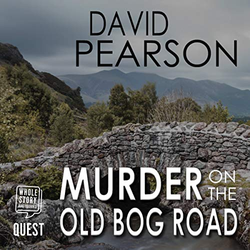 Couverture de Murder on the Old Bog Road