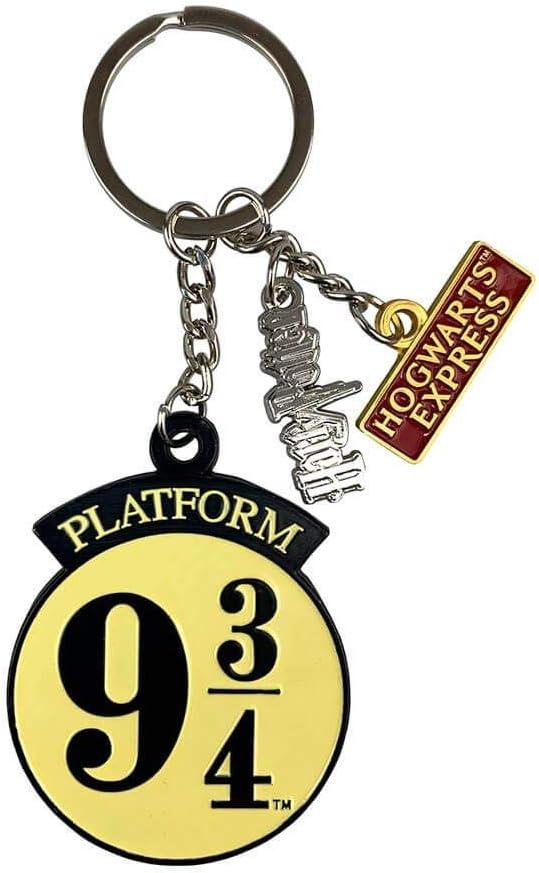 HARRY POTTER Platform 9 3/4 Metal Charm Keyring