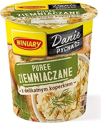 GroßhandelPL Winiary Puree Kartoffelpüree mit Dill 16er Pack (16x50g)