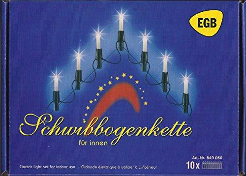EGB Schwibbogenlichterkette 10flg.