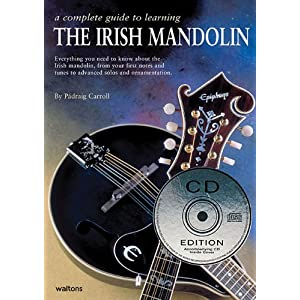 Carroll P Complete Guide To Learning The Irish Mandolin Mand Book/Cd