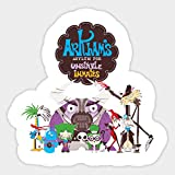 Fosters Home for Imaginary Friends Characters Vinyl Decal Laptop Car Sticker Set of 2