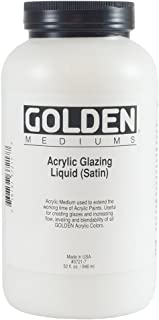 Best golden acrylic satin glazing liquid Reviews