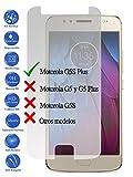 Todotumovil Protector de Pantalla Motorola Moto G5S Plus 4G 5.5 de Cristal Templado Vidrio 9H para movil
