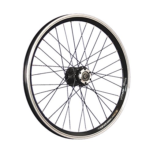 Taylor-Wheels 20 Pollici Ruota Anteriore Bici Grünert Doppia Parete Disco Nero