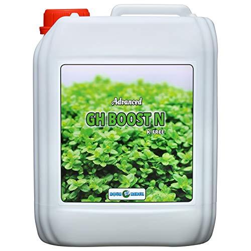 Aqua Rebell ®️ Advanced GH Boost N - 5 Literflasche - optimale Versorgung für Ihre Aquarium Wasserpflanzen - Aquarium Eisenvolldünger speziell für Wasserpflanzen entwickelt
