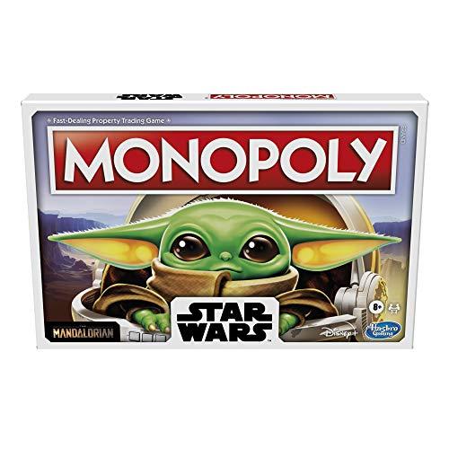 Monopoly: Star Wars The Child Edition Brettspiel für Familien und Kinder ab 8 Jahren, mit dem Kind, Who Fans rufen Baby Yoda