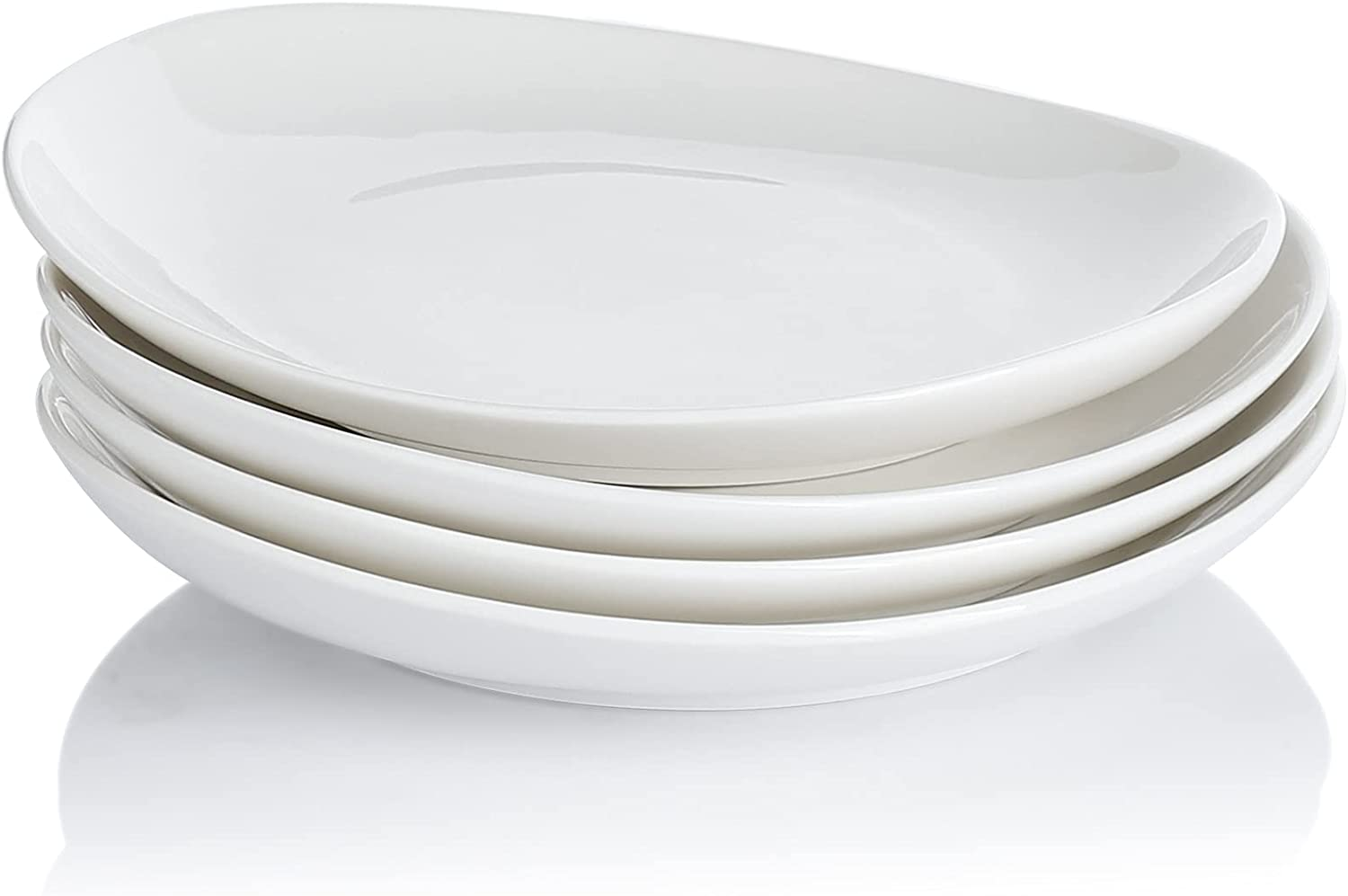 Sweese 151.401 Porcelain Dessert Salad Plates o 7.8 - Set Inch specialty Dallas Mall shop