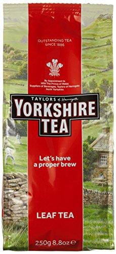 Taylor´s of Harrogate Yorkshire Tea – 6er Pack (6 x 250 g) – Schwarzer Tee lose – Hochwertige Schwarzteemischung