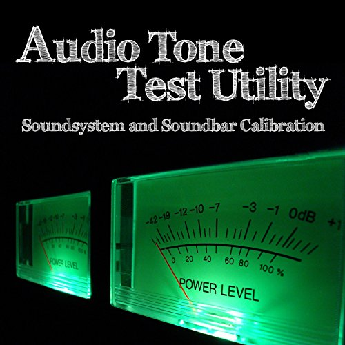 Audio Tone Test Utility (Soundsystem and Soundbar Calibration)