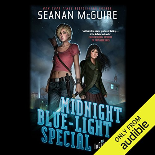 Midnight Blue-Light Special     InCryptid, Book 2              By:                                                                                                                                 Seanan McGuire                               Narrated by:                                                                                                                                 Emily Bauer                      Length: 10 hrs and 56 mins     863 ratings     Overall 4.4