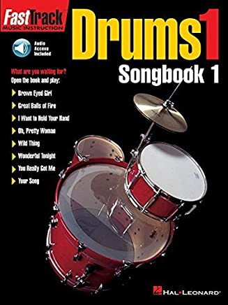 FastTrack Drums Songbook 1 - Level 1 (Book & Online Audio) (Fasttrack Series) by Hal Leonard Corp.(1997-04-01)