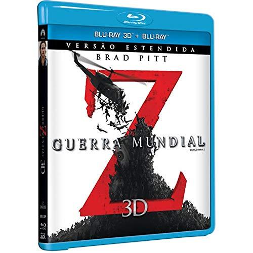 Blu-Ray 2D + Blu-Ray 3D - Guerra Mundial Z