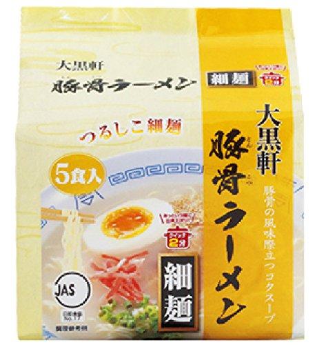 大黒 豚骨ラーメン5食入(82g×5) ×6個