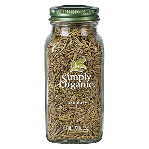 Simply Organic Whole Rosemary Leaf, Certified Organic | 1.23 oz | Rosmarinus officinalis L.