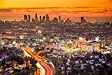 City Skyline Los Angeles XXL Wandbild Kunstdruck Foto