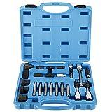 FreeTec Juego de 24 herramientas de reparación de alternadores, generador de corriente alterna, juego de puntas y llaves de vaso