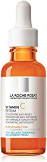 La Roche-Posay Pure Vitamin C Face Serum with Hyaluronic Acid & Salicylic Acid. Anti Aging Face Serum for Wrinkles & Uneve...