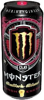 8 Pack - Monster DUB Edition Punch + Energy - Baller's Blend - 16oz.