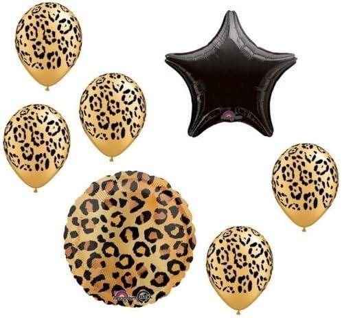 Animal Skin Balloons 18 Leopard Print Balloon Animal Hide Balloons Animal Print Balloons Jungle Balloons Leopard Party Safari Balloon