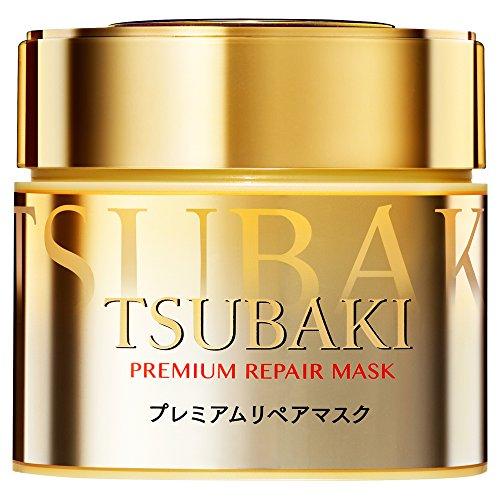 Shiseido Tshubaki Premium Repair Hair Mask - 180g 2017 (Green Tea Set)