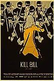 Kein Rahmen Kill Bill Vintage Nostalgic Poster Leinwand ng