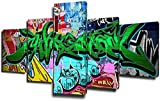 JYCXOZ Pinturas de Pared Imágenes de Guitarra HD Color de 5