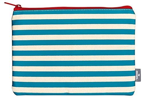 moses. Fernweh Täschchen Streifen Kosmetiktäschchen, 22 cm, Mehrfarbig