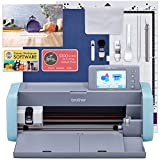 Brother ScanNcut DX125e Wireless Cutting Machine with Software, Designs, Tools, Mat, and More