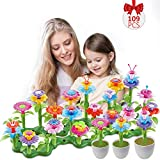 Hugo's Ocean Flower Garden Building Toys 109pcs Girls Kids Toddles Gifts for 3 4 5 6 7 Year Old