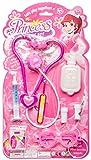 LG-Imports Maletín de médico Princesa 8 piezas, color lila