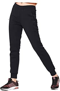 CAMEL CROWN Womens Joggers Pants Fleece Lined Drawstring Stretch Lightweight Running Sweatpants with Pockets