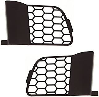 Koolzap For 04 05 06 F150 Pickup Truck Bumper Grill Grille Insert Left & Right Side SET PAIR