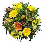 Frischer Blumenstrauß zum Geburtstag- Sonnenschein-von Flora Trans