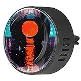 NOBRAND 2 unids disco de música difusor aromaterapia difusor de coche clip de ventilación 40mm difusor de coche de acero inoxidable Locket ambientador