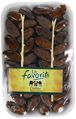 La Favorite Datte Deglet Nour Ravier 500 g